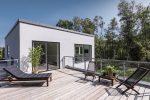 Skanlux Funkis 2-plan hus. Arkitekttegnet luksushus